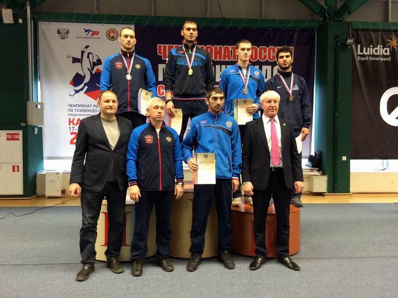 Айдемир Шахбанов бронзовый призёр Чемпионата России по тхэквондо ВТФ