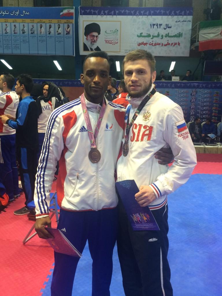 Представитель олимпийского тхэквондо Саид Устаев бронзовый призёр престижного турнира