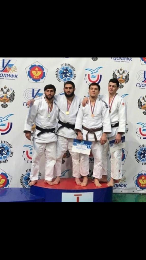 Спортсмены из КЧР удачно выступили на чемпионате России по дзюдо среди студентов