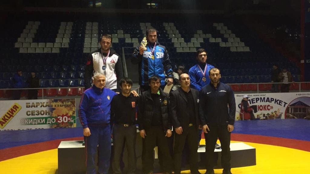 Представитель «ЦСП КЧР» Руслан Кубанов стал бронзовым призёром первенства СКФО по вольной борьбе