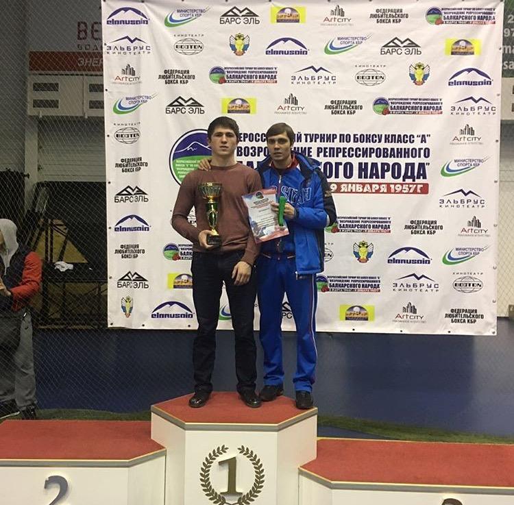 Боксёр «ЦСП КЧР» Азамат Каппушев стал обладателем серебряной медали Всероссийских соревнований класса «А»